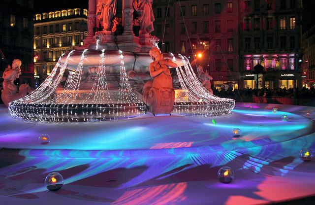 Annual Fête des Lumières Lights up Lyon