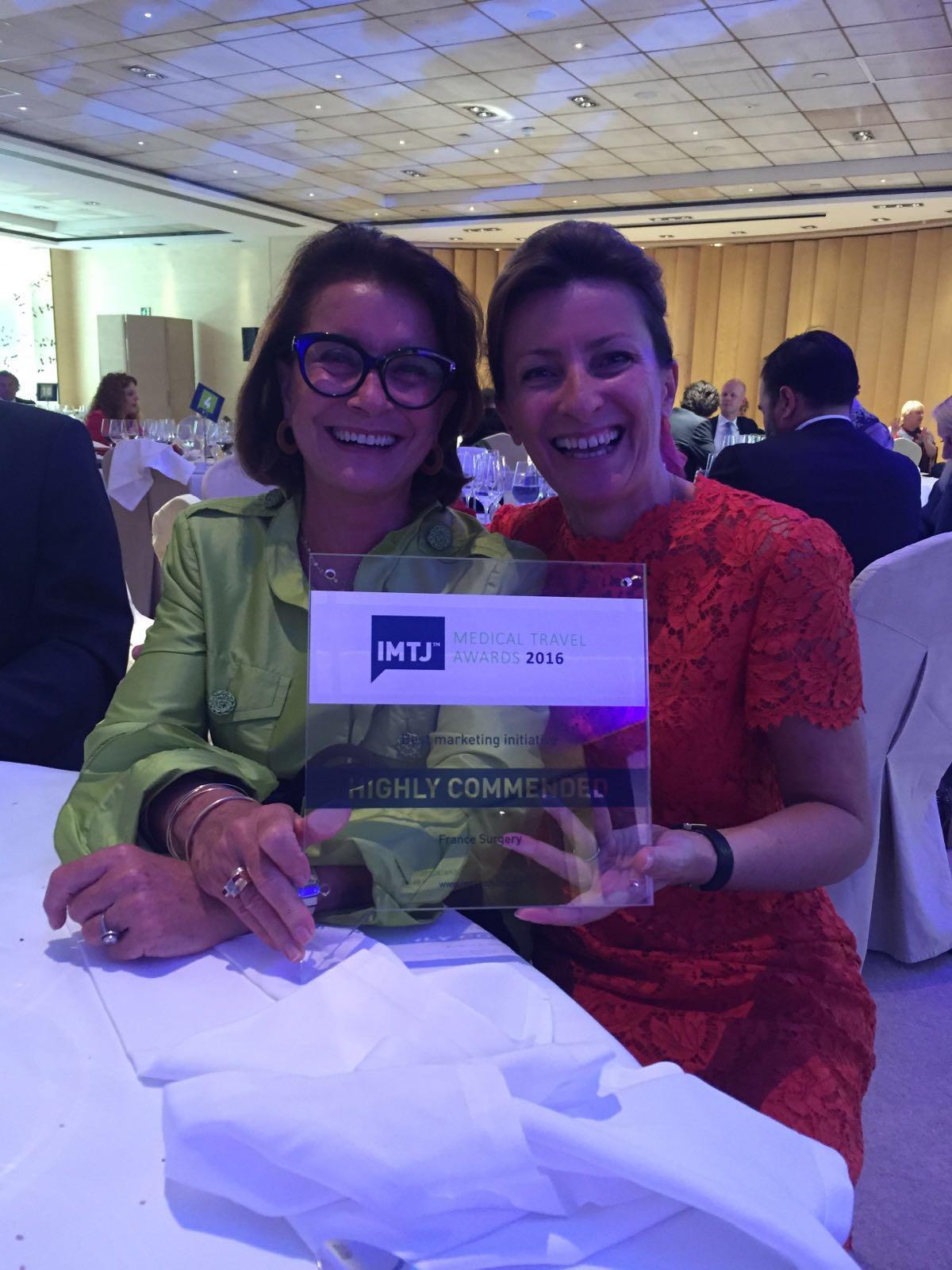 France Surgery wins again at IMTJ Medical Travel Awards